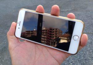 iPhoneガラスコーティング事例