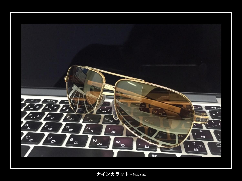 眼鏡フレームコーティングはサングラスにも施工可能