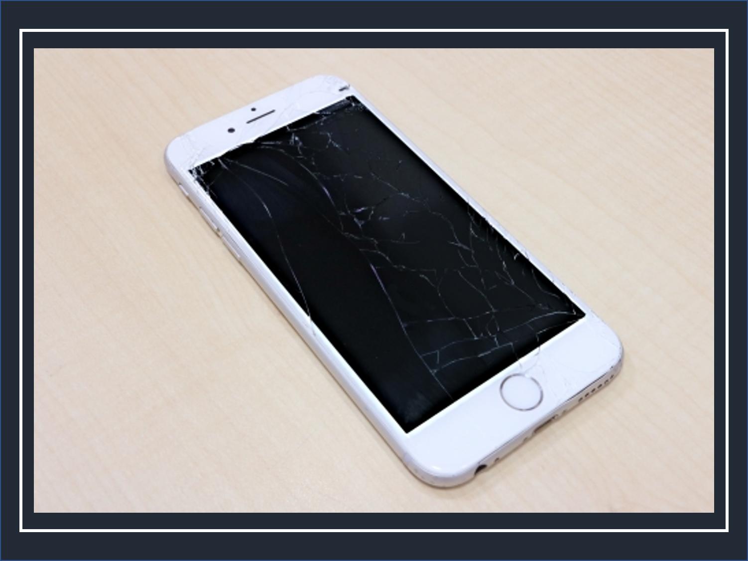 画面が割れたiPhoneを修理せずに放置するリスクを徹底解説