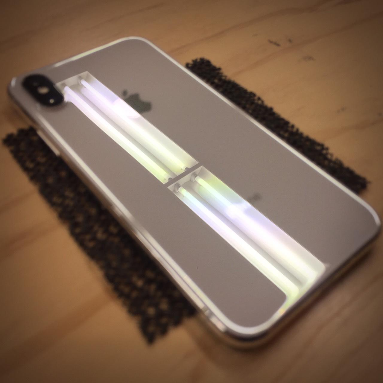 iPhone Xガラスコーティング札幌の施工紹介