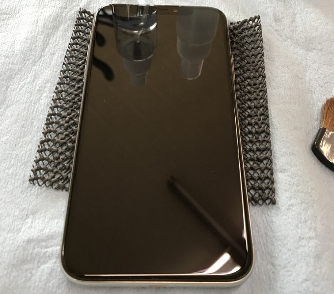 iPhone Xガラスコーティング青森ならナインカラット!