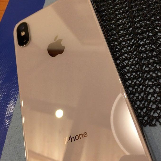 iPhoneガラスコーティング施工例